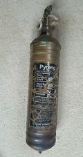 1940's Vintage Pyrene Commercial Vehicle Fire Extinguisher