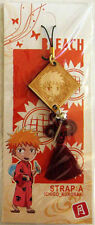 Bleach Ichigo Wooden Charm Phone Strap Import RARE