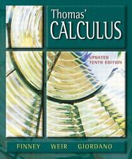 Thomas' Calculus, Updated (10th Edition) by Thomas Jr., George B., Finney Late,