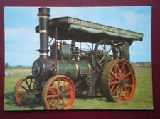 POSTCARD  FOSTER TRACTION ENGINE 5 NHP BUI;T 1926