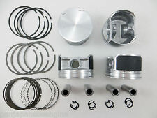 Upgraded Piston/Premium Ring Kit (.50mm) for 02-06 2.5L Altima Sentra QR25DE