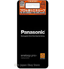 8 Panasonic Eneloop Pro Rechargeable Batteries AA High End Batteries 2500 mAh