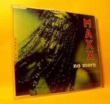 MAXI Single CD Maxx No More (I Can't Stand It) 6TR 1994 Euro House