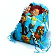 New Toy Story Woody Jessie SlinkyDog Drawstring Backpack School Swim Bag 33x27cm
