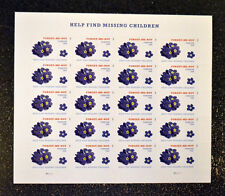 2015USA  #4987 Forever - Forget Me Not  Help Find Missing Children - Sheet of 20