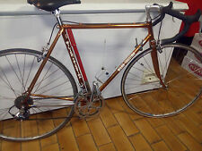BICICLETTA ROAD BIKE, Wilier Triestina 1979, Columbus Frame, coppered.
