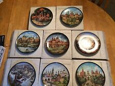 Russian Jewels of the Golden Ring 8 Plate Complete Collection Bradford Exchange