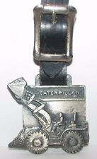 Caterpillar Cat Wheel Loader Pocket Watch Fob Foley Machinery Company Leavens