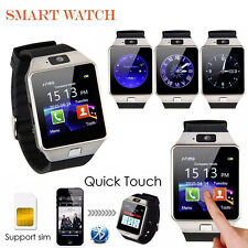 DZ09 Smart Watch Phone For Android IOS Bluetooth Camera Sim Card Memory Slot