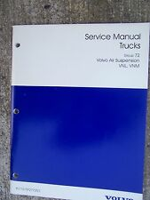 1997 Volvo Truck Service Manual Air Suspension VNL VNM MORE MANUALS IN STORE  T