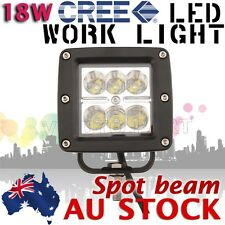 18W CREE LED Work Light Off road SUV Boat 4x4 Jeep Spot Pencil beam Lamp AU SHIP