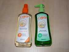 CALYPSO FACTOR 10 DRY OIL TAN SPRAY & ALOE VERA AFTER SUN GEL / LOTION / CREAM