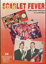 "LLANELLI - ""Son of Scarlet Fever"" by Les & Neil Williams - RUGBY BOOK"