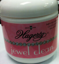 Hagerty Jewel Clean Jewelry Cleaning Solution With Basket and Brush 7 FL Oz