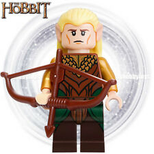 LEGO The Hobbit Minifigures - Legolas Greenleaf w Bow (79001, 79017) Minifigure