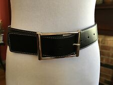Lambertson Truex leather belt, made in Italy