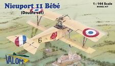 Valom 1/144 Model Kit 14413 Nieuport 11 Bebe (2 kits included)