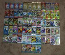 Pokemon 64 Booster Packs. Complete EX Series! Ruby & Sapphire to Power Keepers!