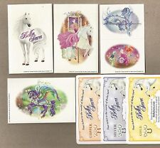 Bella Sara Spring Carnival lot of 10 stickers and 6 code cards (2 gold, silver +