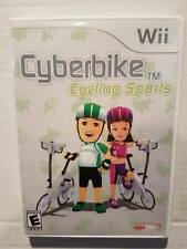 Cyberbike Cycling Sports Nintendo Wii w/ Manual Rarest Wii Game NO BIKE OR CABLE