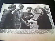68-2  ephemera 1967 picture 1st st peter's sea scouts graham firman watley