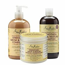 Shea Moisture Jamaican Black Castor Oil Combination Hair Product Pack NEW USA