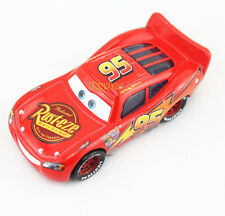 Original 1:55 Rare Disney Pixar Cars2 Red Lightning McQUEEN Matel Car Toy