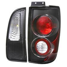Lincoln Navigator black euro tail light stop altezza rear lamps 98 99 00 01 02