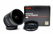 Sigma 8mm 1:3.5 EX DG Fisheye (für Canon)