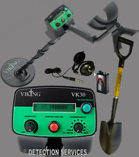 Viking VK30 metal detector Motion e Non-Motion terreni e battigia bellica e coin