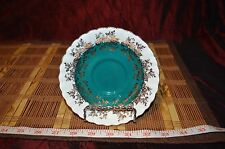 "Beautiful Vintage Royal Albert Bone China Saucer - Regal Series Teal 5 1/2""x7/8"""
