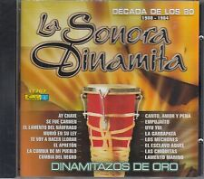 La Sonora Dinamita Decada de Los 80 1980-1984 CD New Nuevo sealed