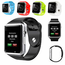 HOT XMAS A1 Waterproof Bluetooth Smart Watch SIM Phone Mate For Android iPhone