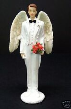 Angel Groom Statue Figurine Cake Topper Pacific Giftware New