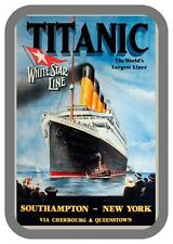 Retro Style vintage Titanic Travel Advertising Sign  door sign,