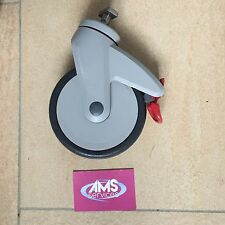 Invacare Aquatec Ocean VIP Shower / Chair 125mm Braked Castor - 15mm Fixings