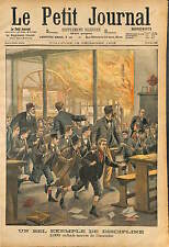 ENGLAND LONDON EAST HAM SCHOOL PROFESSOR RICHARDSON SAVE 2000 KIDS FIRE 1903