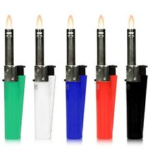 Clipper Mini Gas Lighter For BBQ,Kitchen,Campaign Fire Candle Flame Lighter. 1x