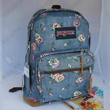 JanSport Right Pack Espressions Floral Backpack Daypack Bookbag Jeans TZR6 9QM