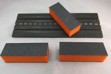3 TRACK CLEANING BLOCKS ~ WORKS ON AURORA, AFX, TOMY, TYCO, LIFELIKE, & OTHERS