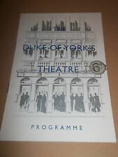 "THE DUKE OF YORK'S THEATRE "" THE BIG KNIFE "" RARE PROGRAMME 1954 EXCELLENT"