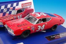 Carrera 30754 Digital & Analog Ford Torino Talladega #34 1/32 Scale Slot Car