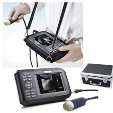 Portable Laptop Ultrasound Scanner Machine Handheld Animal Pet Veterinary Dog