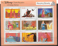 Grenada 1987 Disney/Sleeping Beauty/Film/Owl sht s5754