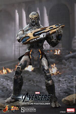 "12"" Chitauri Footsoldier The Avengers  Movie Item 902161 Hot Toys Sideshow"