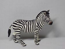 Adult Zebra Figure By Safari Ltd Zoo Africa Playset Toy Wild Animal Cake Topper