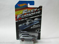 HOT WHEELS FAST AND FURIOUS SUBARU WRX STI SILVER/BLACK 7/8 MOVIE VEHICLE