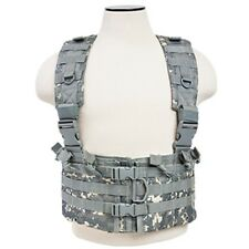 NcSTAR ACU Airsoft Tactical Vest 5.56 Chest Rig w/ 5.56 Mag Pouches CVARCR2922D