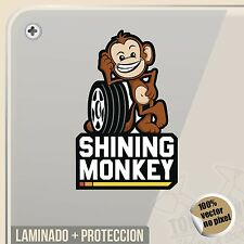 PEGATINA SHINING MONKEY KEN BLOCK DECAL VINILO VINYL STICKER DECAL ADESIVI