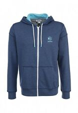 Reebok Men's Full Zip Hooded Sweatshirt Blue XL